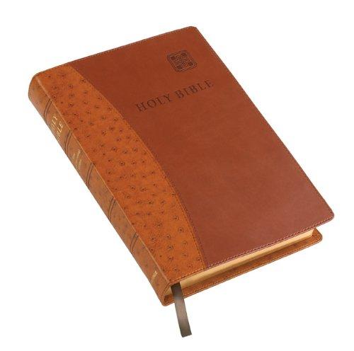 9780521757041: NIV Single Column Text Edition NI692:T tan two-tone imitation leather
