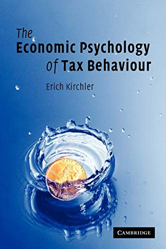 9780521757478: The Economic Psychology of Tax Behaviour