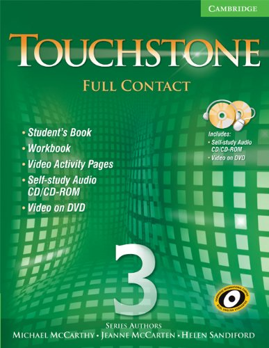9780521757676: Touchstone Level 3 Full Contact (with NTSC DVD) (No. 3)