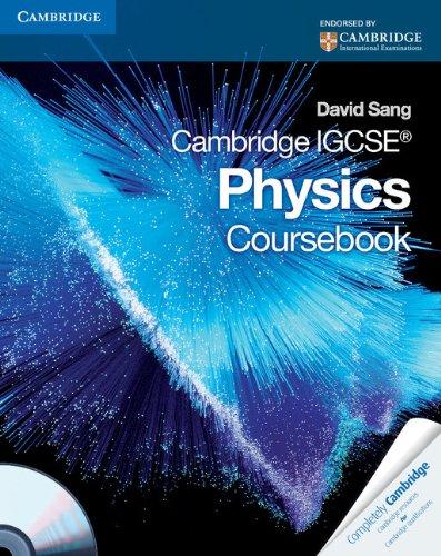 9780521757737: Cambridge IGCSE Physics Coursebook with CD-ROM (Cambridge International IGCSE)