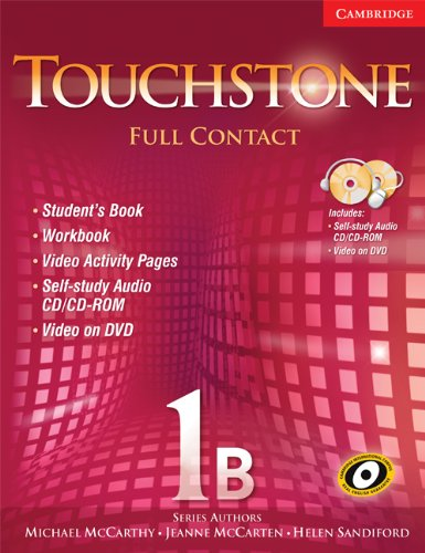 9780521757867: Touchstone 1B Full Contact (with NTSC DVD): No. 1B