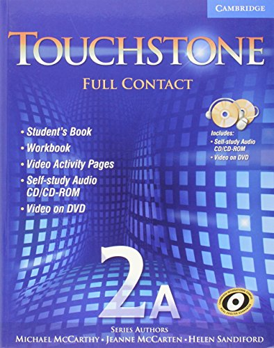 9780521757904: Touchstone 2A Full Contact (with NTSC DVD): No. 2A