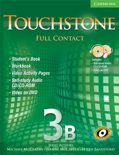 9780521757997: Touchstone 3B Full Contact (Book & DVD)