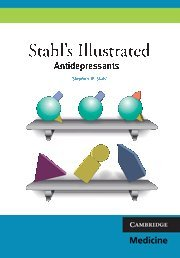 9780521758529: Stahl's Illustrated Antidepressants