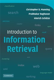 9780521758789: Introduction to Information Retrieval International Student Edition