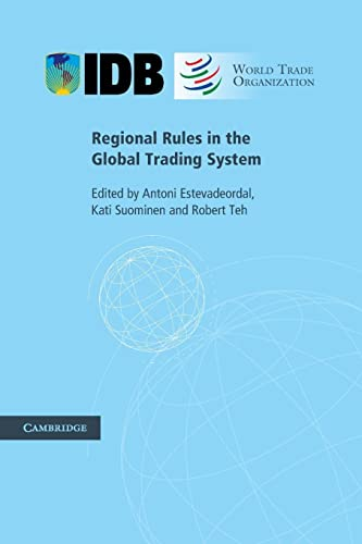 9780521759342: Regional Rules in the Global Trading System