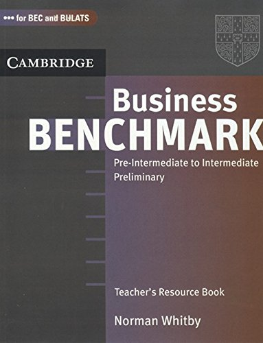 9780521759373: BUSINESS BENCHMARK PRE-INTERME