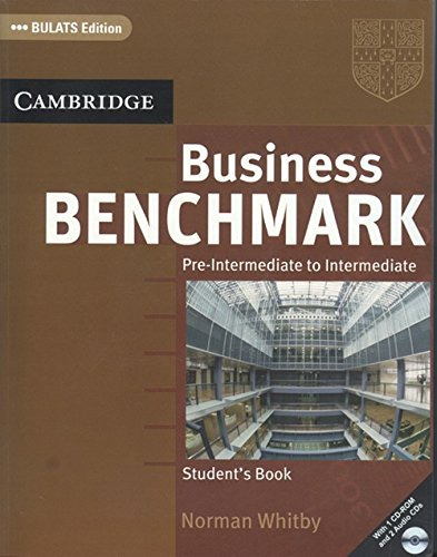 9780521759380: BUSINESS BENCHMARK PRE-INT TO INT.STUDENTS BOOK W/1 CD-ROM & 2ACD PACK BULATS ED.(SOUTH ASIAN ED.)