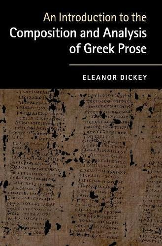9780521761420: An Introduction to the Composition and Analysis of Greek Prose