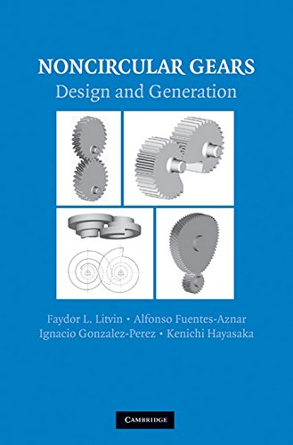 9780521761703: Noncircular Gears: Design and Generation