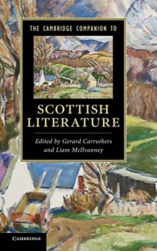9780521762410: The Cambridge Companion to Scottish Literature (Cambridge Companions to Literature)