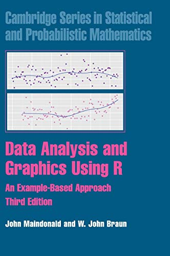 9780521762939: Data Analysis and Graphics Using R: An Example-Based Approach (Cambridge Series in Statistical and Probabilistic Mathematics)