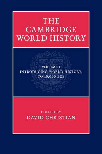 9780521763332: The Cambridge World History (Volume 1)