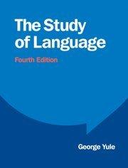 9780521765275: The Study of Language