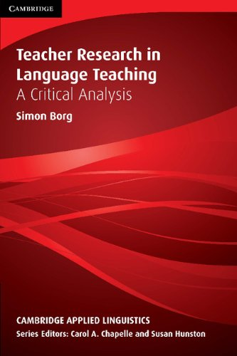 9780521765633: Teacher Research in Language Teaching: A Critical Analysis (Cambridge Applied Linguistics)