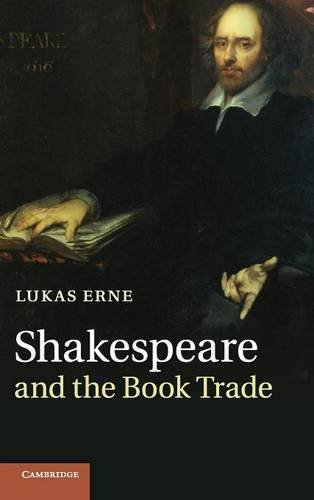 9780521765664: Shakespeare and the Book Trade
