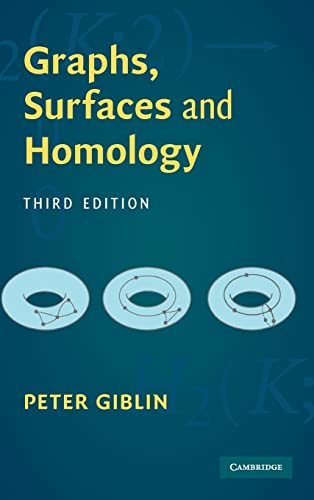 9780521766654: Graphs, Surfaces and Homology