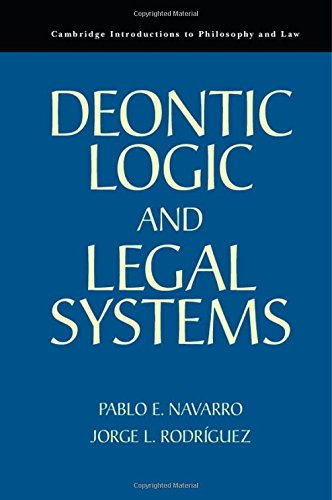 9780521767392: Deontic Logic and Legal Systems (Cambridge Introductions to Philosophy and Law)