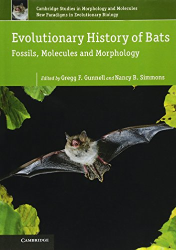 9780521768245: Evolutionary History of Bats: Fossils, Molecules and Morphology (Cambridge Studies in Morphology and Molecules: New Paradigms in Evolutionary Bio)