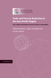 9780521768368: Trade And Poverty Reduction In The Asia-Pacific Region: Case Studies And Lessons From Low-Income Communities