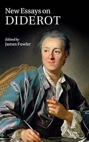 9780521769563: New Essays on Diderot