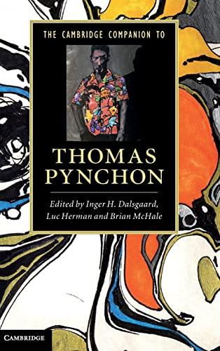 9780521769747: The Cambridge Companion to Thomas Pynchon Hardback (Cambridge Companions to Literature)