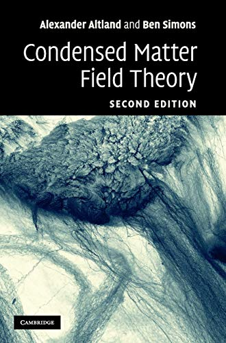9780521769754: Condensed Matter Field Theory 2nd Edition Hardback