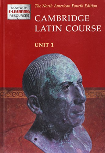 Cambridge Latin Course Unit 1 Student's Text North American Edition (2009) (Hardcover): North ...