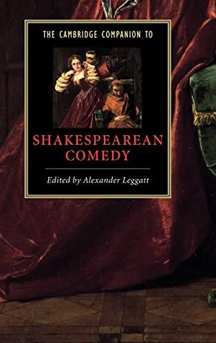 9780521770446: The Cambridge Companion to Shakespearean Comedy (Cambridge Companions to Literature)