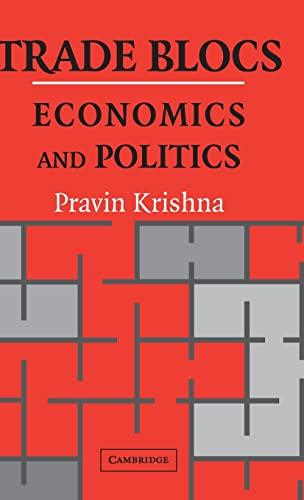 9780521770668: Trade Blocs: Economics and Politics (Japan-US Center UFJ Bank Monographs on International Financial Markets)