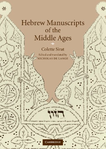 9780521770798: Hebrew Manuscripts of the Middle Ages