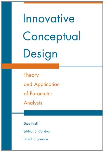 9780521770910: Innovative Conceptual Design: Theory and Application of Parameter Analysis