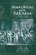 9780521771061: Women, Writing and the Public Sphere, 1700–1830