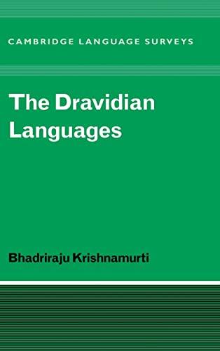 9780521771115: The Dravidian Languages
