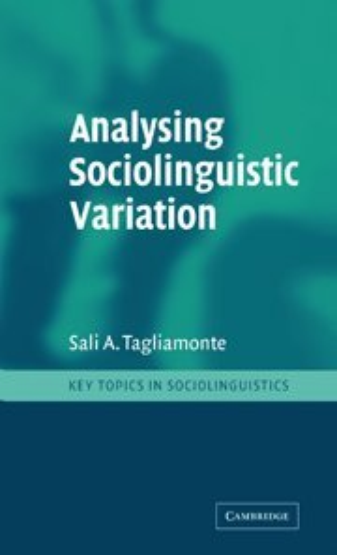 9780521771153: Analysing Sociolinguistic Variation (Key Topics in Sociolinguistics)