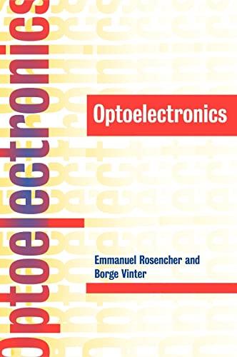 9780521771290: Optoelectronics Hardback
