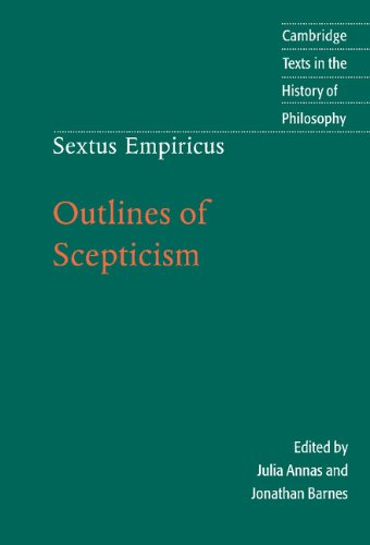 9780521771399: Sextus Empiricus: Outlines of Scepticism 2nd Edition Hardback (Cambridge Texts in the History of Philosophy)