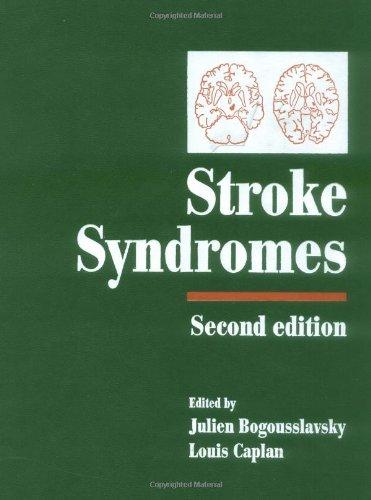 9780521771429: Stroke Syndromes