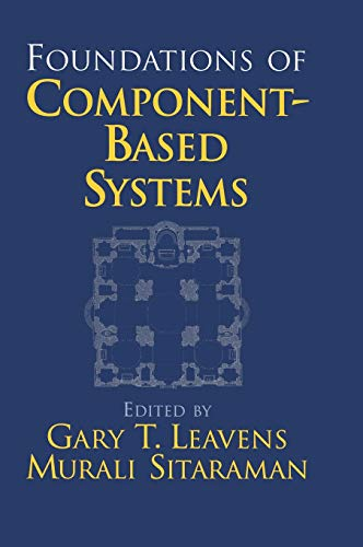 9780521771641: Foundations of Component-Based Systems