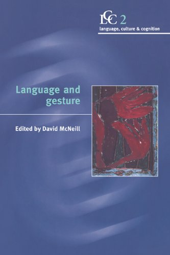 9780521771665: Language and Gesture (Language Culture and Cognition, Series Number 2)