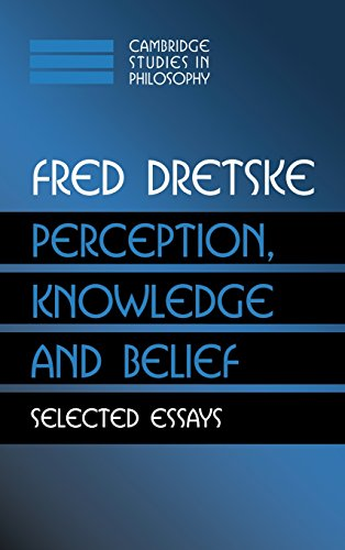 9780521771818: Perception, Knowledge and Belief: Selected Essays