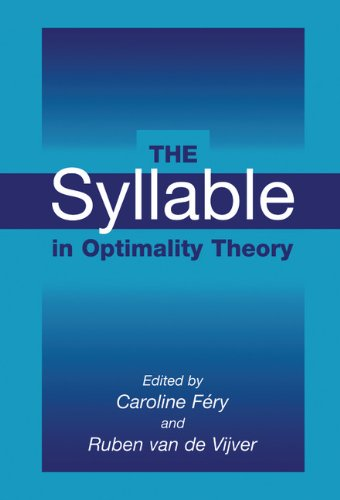 9780521772624: The Syllable in Optimality Theory