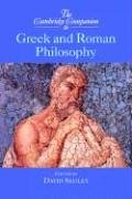 9780521772853: The Cambridge Companion to Greek and Roman Philosophy Hardback (Cambridge Companions to Philosophy)