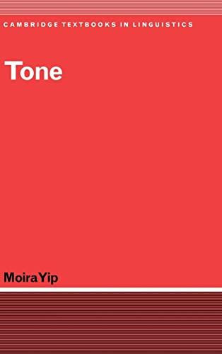 9780521773140: Tone