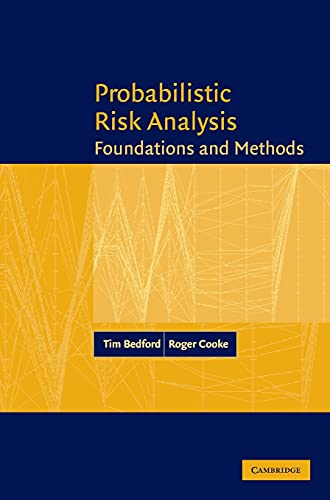 9780521773201: Probabilistic Risk Analysis: Foundations and Methods