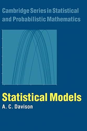 9780521773393: Statistical Models