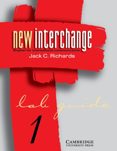 9780521773812: New Interchange 1 Lab guide: English for International Communication