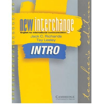 9780521773966: New Interchange Intro Student's book Asian edition: English for International Communication (New Interchange English for International Communication)