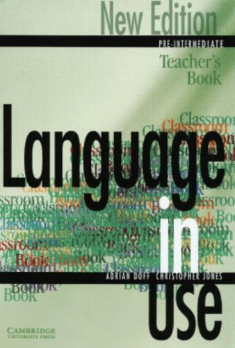 9780521774048: Language in Use 2nd Pre-Intermediate New Edition Teacher's book