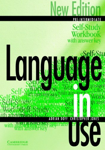 9780521774055: Language in Use Pre-Intermediate Self-study workbook/answer key